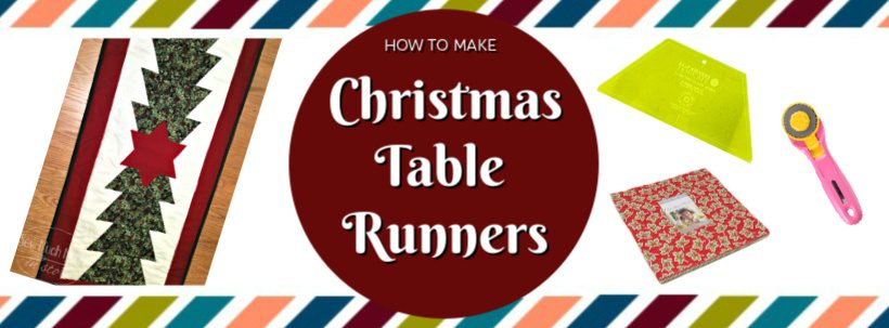 Christmas Table Runners To Make.Christmas Table Runners Sew Much Moore