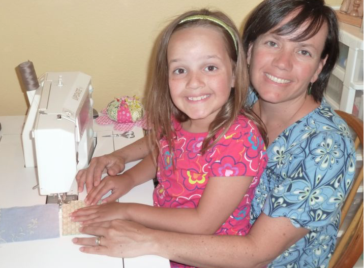 Mother and Daughter Sewing - Learn to Sew