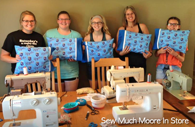 Group Lesson in my home - Learn to Sew