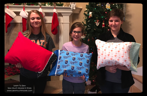 Learn To Sew!  Travel Pillow Class - November 2016