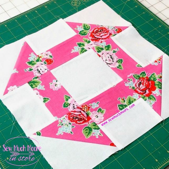 Churn Dash Quilt Block Sew Much Moore
