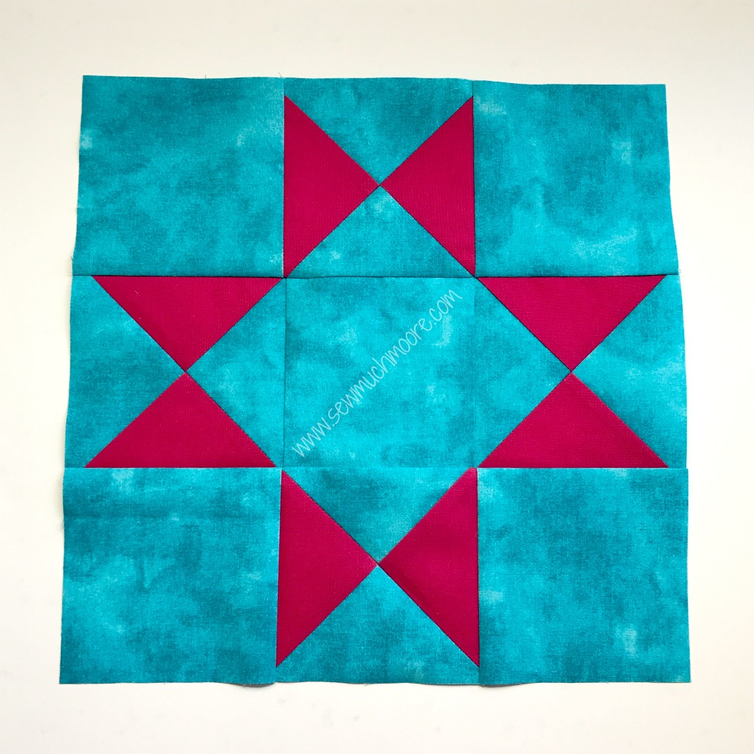 Ohio Star completed block image