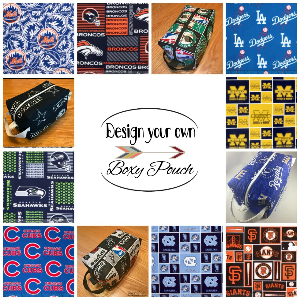 Design your own boxy pouch etsy listing image link - How to Sell your Handmade Goods
