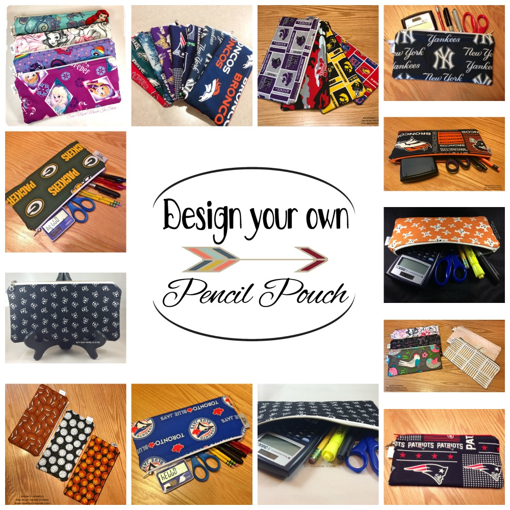 Design your own pencil pouch image for Etsy link - How to Sell your Handmade Goods