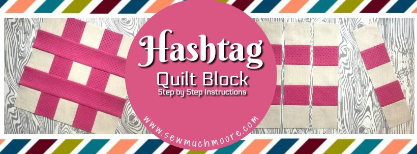 Hashtag Quilt Block WP Header