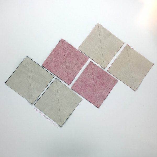 Sarah's Choice Quilt Block - Step 2