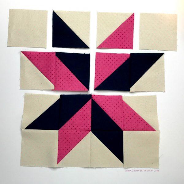 Sarah's Choice Quilt Block - Step 6