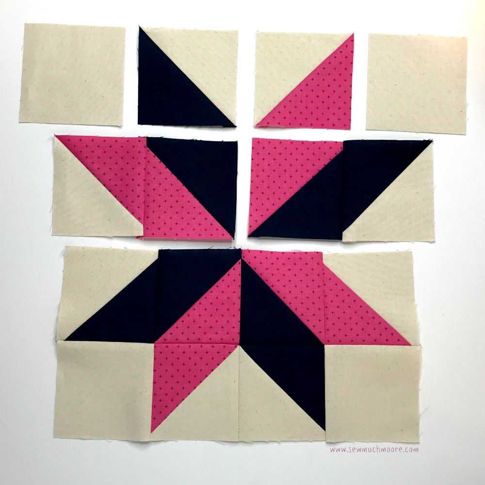 Sarah's Choice Quilt Block - Step 6