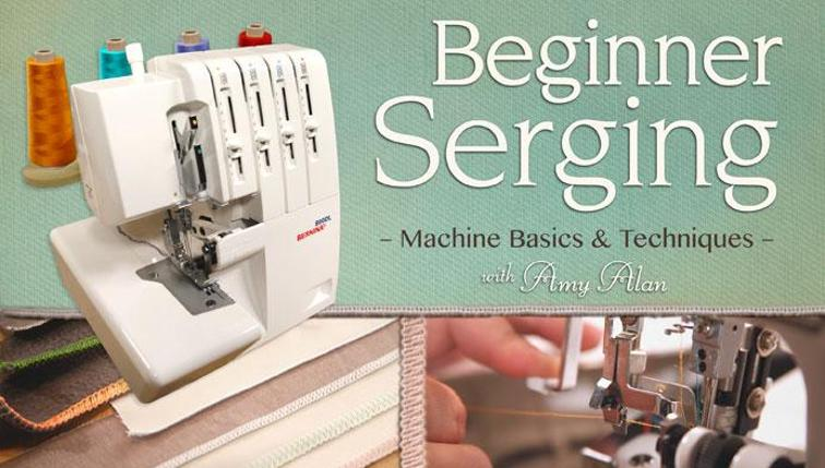 Beginner Serging