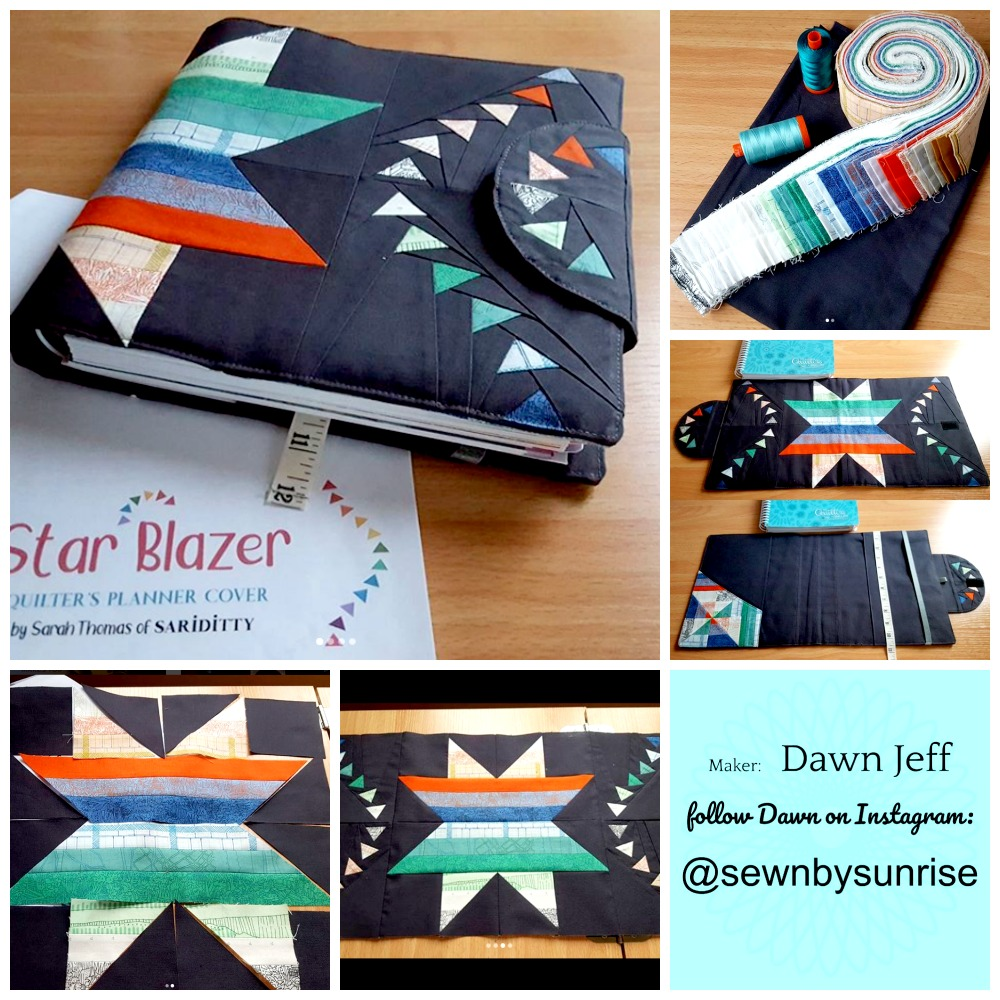Dawn Jeff Planner Cover Collage