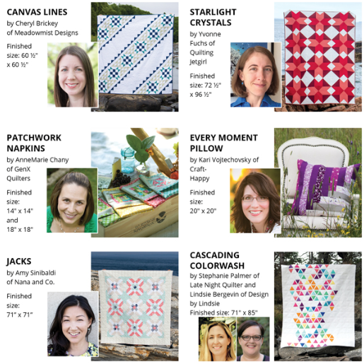 2018 Quilter's Planner - Patterns