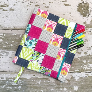 My Tea and Brie Quilters Planner Cover