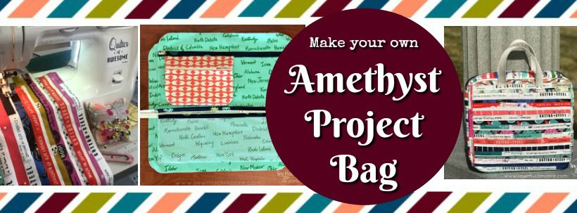 Amethyst Project Bag Blog Header