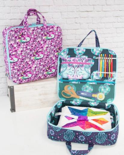 Sew Sweetness Amethyst Project Bag