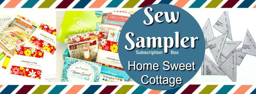 Sew Sampler Home Sweet Cottage Blog Header