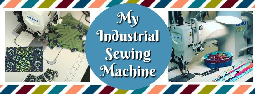 Industrial Sewing Machine Blog header