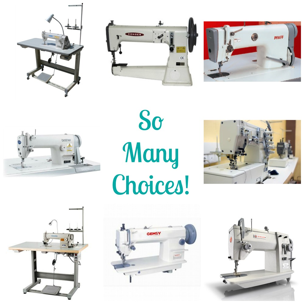 Industrial Sewing Machine Choices