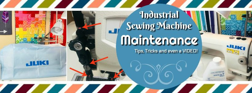 Industrial Sewing Machine Maintenance MP Bog Image