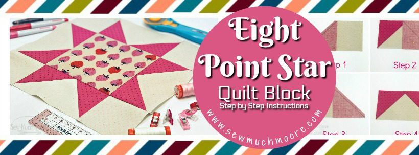 Eight Point Star Quilt Block WP Header