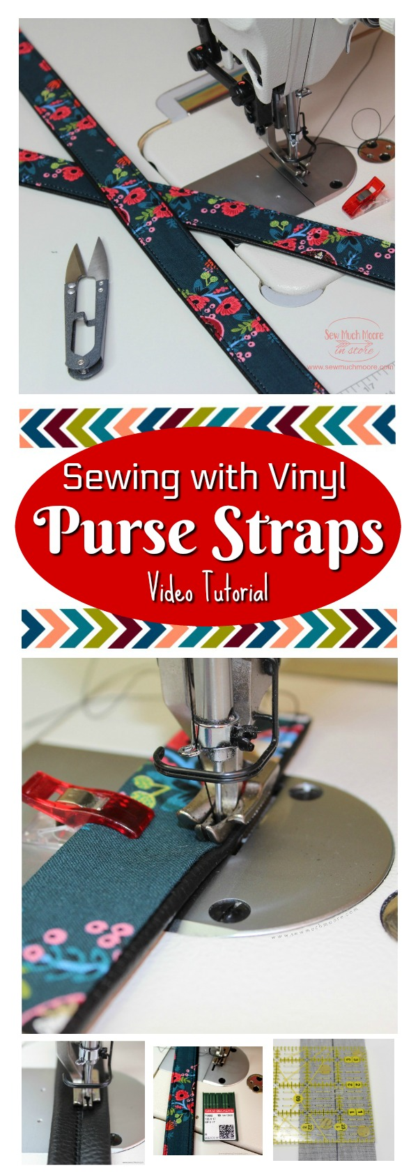 Industrial Sewing Machine Sewing with Vinyl Pinterest Pin