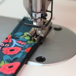 Industrial Sewing Machine - Sewing with Vinyl - Vinyl Purse Strap 10