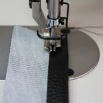 Industrial Sewing Machine - Sewing with Vinyl - Vinyl Purse Strap 6