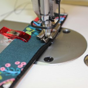 Industrial Sewing Machine - Sewing with Vinyl - Vinyl Purse Strap 9