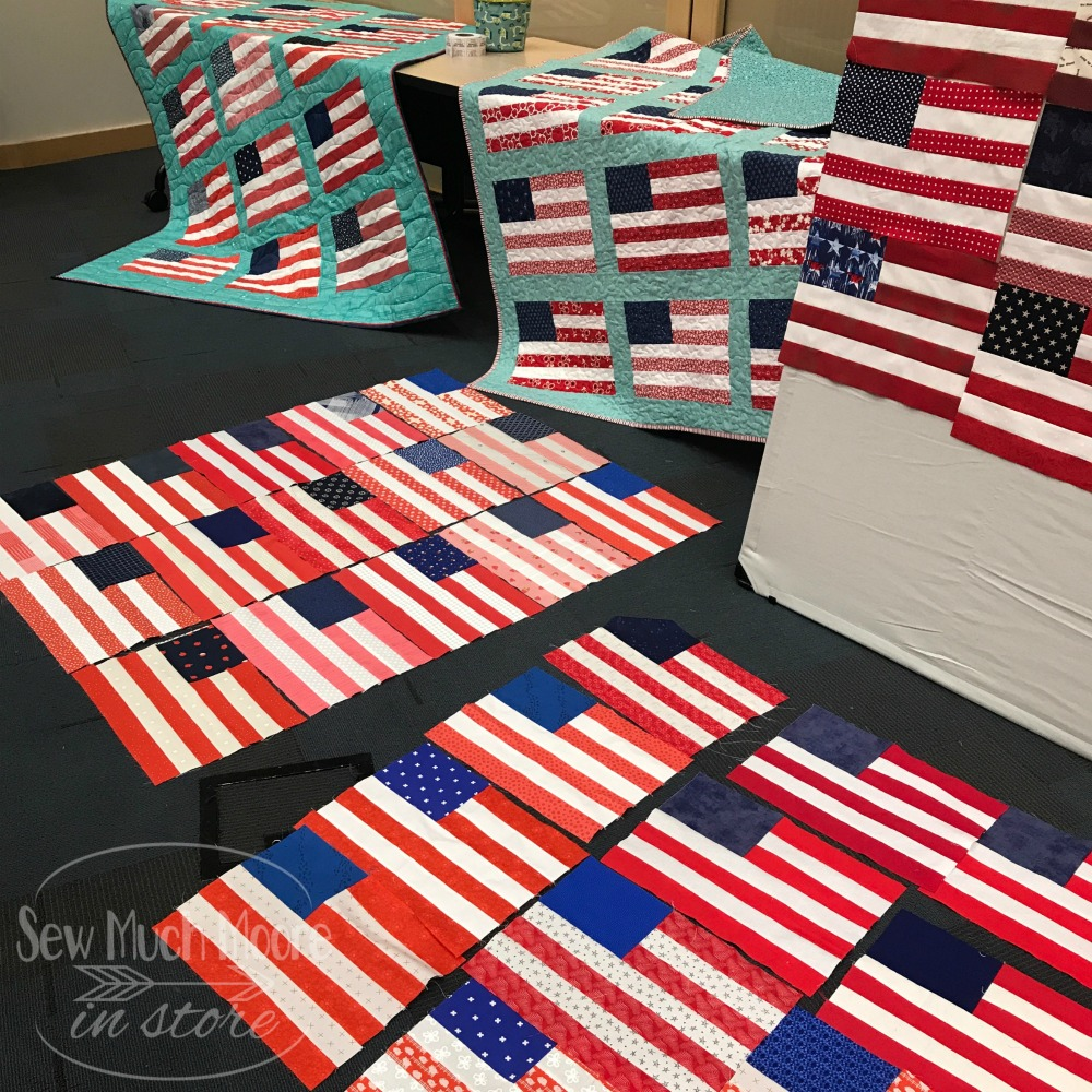 Stars and Stripes Quilt - Block Lotto