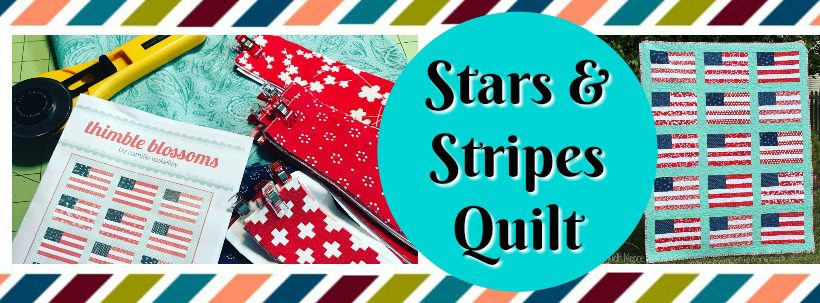 Stars and Stripes Quilt WP Header