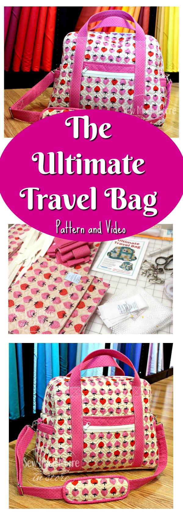 Ultimate Travel Bag Pinterest Pin