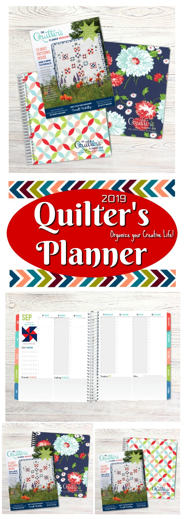 2019 Quilter's Planner - Planning your creative life.