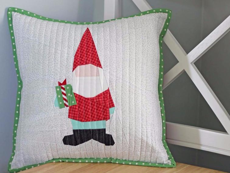 "Gnome FPP Pattern - Check out this collection of fun and exciting patterns! Get started on your own Handmade Christmas! #Pattern #Printables #Quilts #Pillows #Easy #Templates #ForBeginners #Beginner #Art #Design #ArtDesign #Block #ChristmasQuilt #ForBeginners #quilt #Quilts #Quilting #ideas #modern #ToMake #Simple #Blocks #Tutorial #quilting #sewing #handmade #Project #Patchwork #Contemporary #WalkingFoot #DIY #Fabric #Bedding #OfTheMonth #12"" #Vintage #Modern #Star #Scrappy #Free #Quick #project #DIY #Sampler #Ideas #Basic #HST #12Inch #StepByStep #QuiltBlock #BOM #SewMuchMoore #SewMuchMooreInStore"