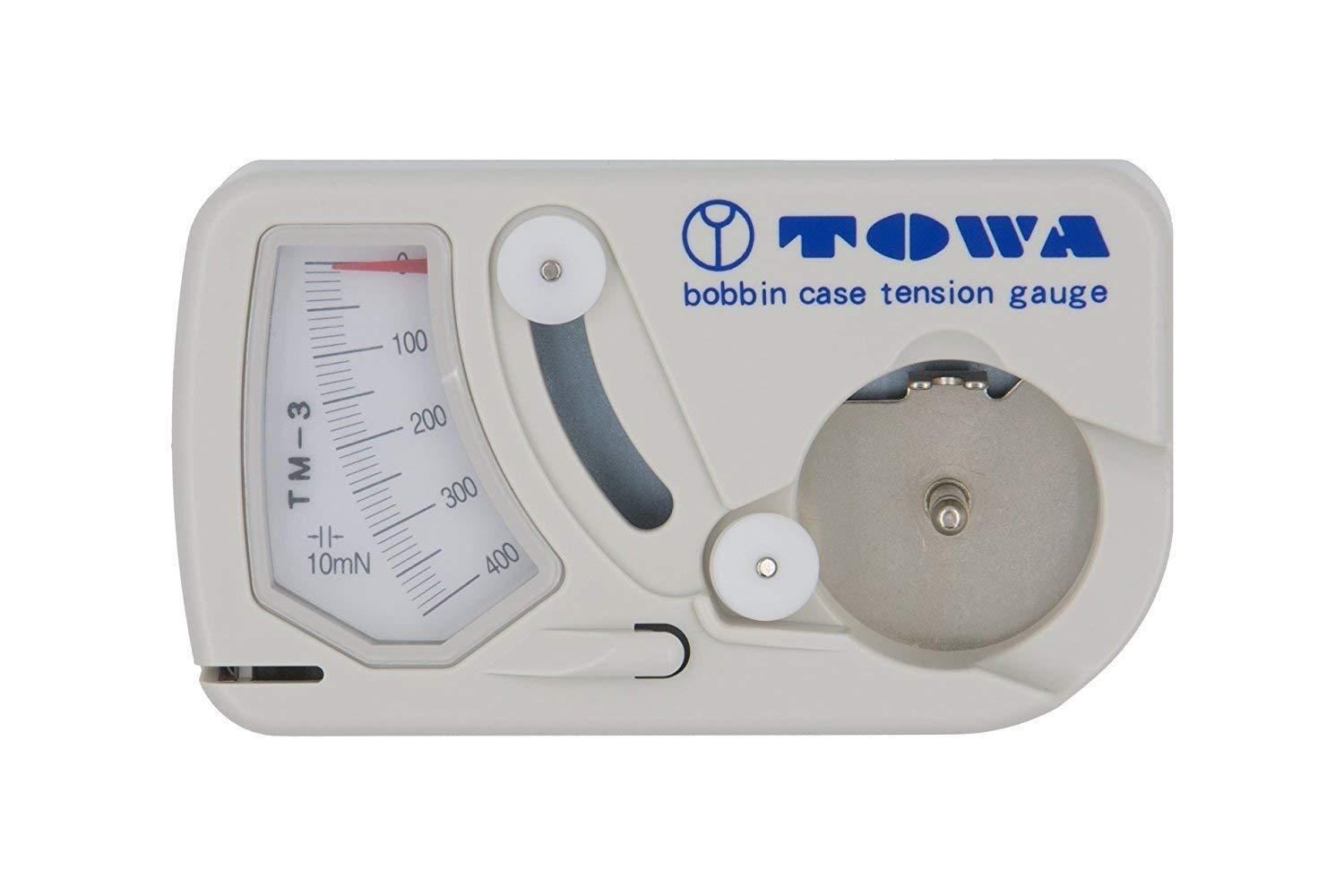 Achieving perfect thread tension is essential when sewing and quilting. This TOWA tension gauge will help! Check out these tips and tricks and watch the video tutorial. #forBeginners #Easy #ForTheHome #DIY #Sewing #troubleshoot #Beginner #simple #video #sewingmachine #quick #tutorial #SewMuchMoore #SewMuchMooreInStore