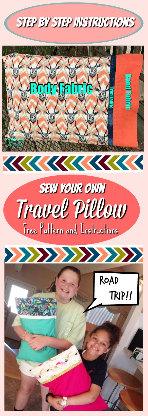 Diy Travel Pillow Cases Sew Much Moore