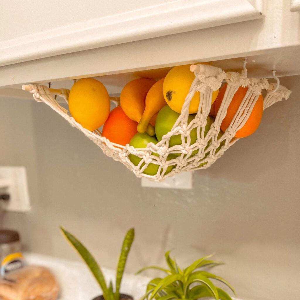Handmade Mother's Day - Macrame Fruit Hammock