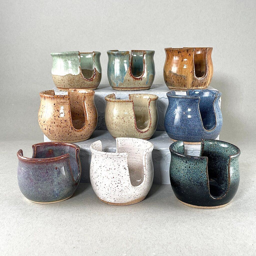 Handmade Mother's Day - Pottery Sponge Holder