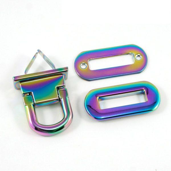 Oval Flip Lock 2
