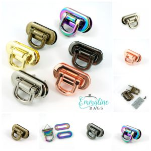 Oval Flip Lock