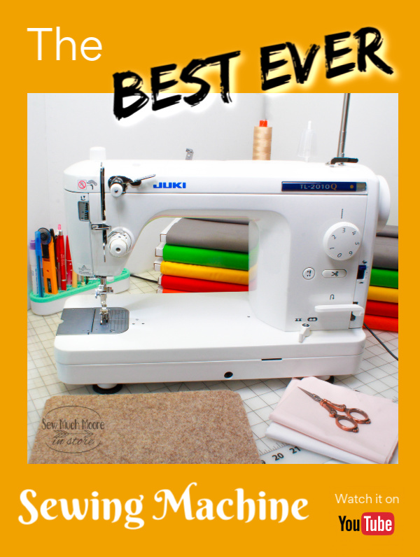 The best sewing machine is the Juki TL-2010Q!  Learn more right here!