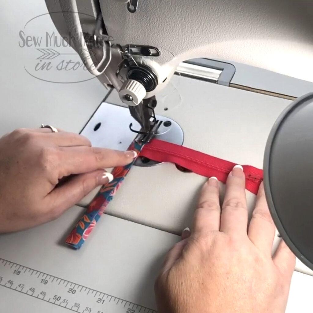 Making the Zipper Tab