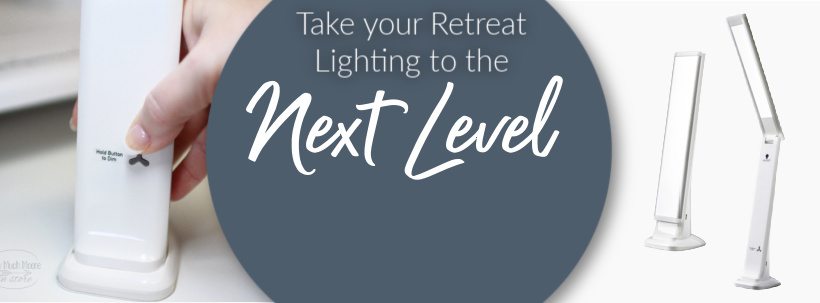 Smart Travel Lamp - take your retreat lighting to the next level!