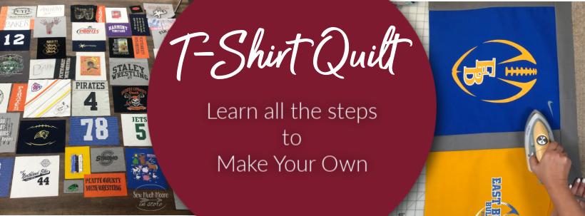 T-Shirt Quilt WP Blog Header