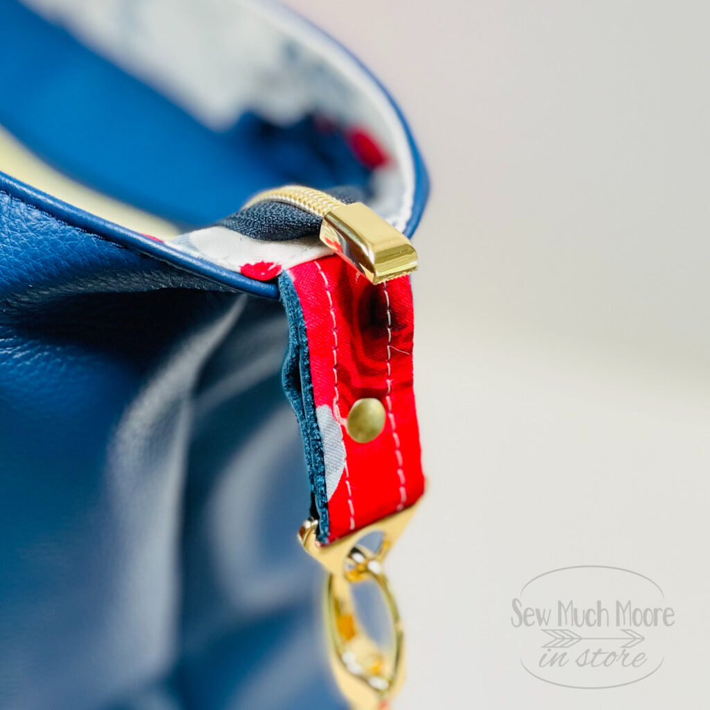 How to add Zipper Ends to your handmade bag