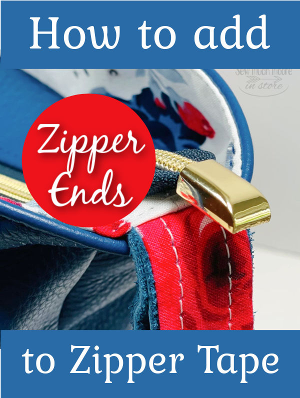 How to add a Zipper End tutorial